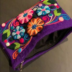 Bags - Peruvian makeup bag / clutch